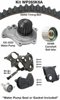 Dayco WP265K6A Engine Timing Belt Kit with Water Pump