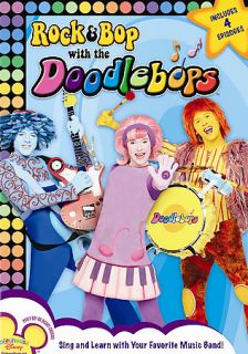 Rock & Bop With the Doodlebops (DVD, 200