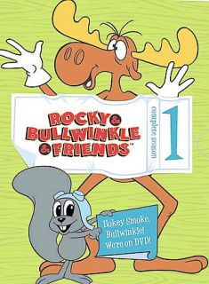 The Rocky Bullwinkle Show   Complete Season 1 DVD, 2003, 4 Disc Set