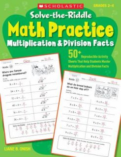 Multiplication and Division Facts 50 Reproducible Activity Sheets That