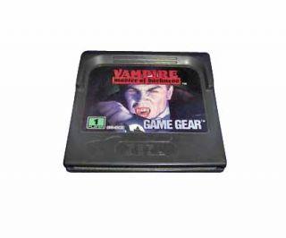 Vampire Master of Darkness Sega Game Gear, 1993