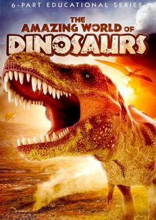 The Amazing World of Dinosaurs (DVD, 201