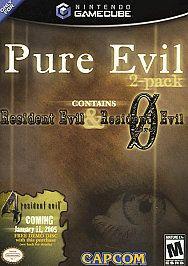 Pure Evil 2 Pack contains Resident Evil Resident Evil 0 Nintendo