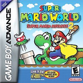 Super Mario Advance 2 Super Mario World (Nintendo Game Boy Advance