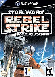 Star Wars Rogue Squadron III Rebel Strike Nintendo GameCube, 2003