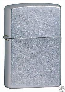 zippo street chrome full size lighter low shipping 207 time