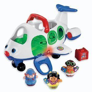 Fisher Price Little People Lil Movers Airplane Kids Toddler Boy Girl