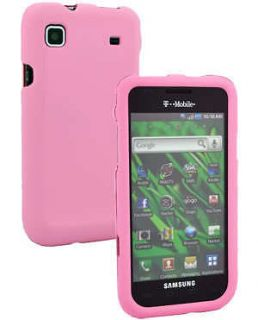 Newly listed Pink Rubber Hard Cover Case for SAMSUNG VIBRANT T959