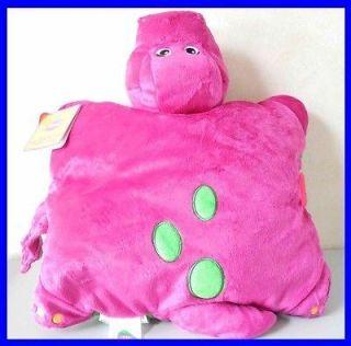 Cute Barney The Purple Dinosaur kids Best Friend Cushion Pillow soft