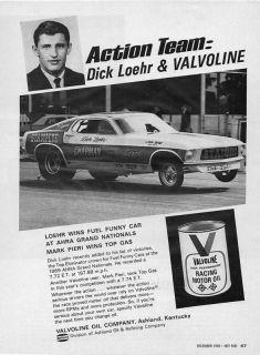 Vintage NHRA IHRA AHRA Drag Racing Ford Mustang Funny Car Gasser Pro