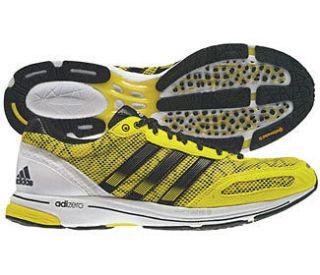 Adidas adiZero Adios Mens Running Shoe   Yellow/Black *Authorized