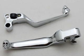New Handlebar Hand Control Brake Clutch Levers For Harley Sportster