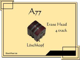 Revox A77 A 77 A 77 4 rack erase head Reel o Reel ape Recorder