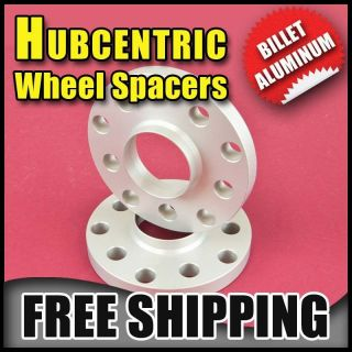 OEM HUB CENTRIC 10MM WHEEL ADAPTER SPACERS VOLKSWAGEN VW 5X100 & 5X112