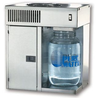 NEW Mini Classic CT Counter Top Pure Water Distiller Stainless Steel