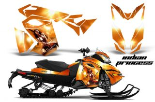 SKI DOO REV XS MXZ RENEGADE SNOWMOBILE SLED GRAPHICS KIT WRAP DECAL