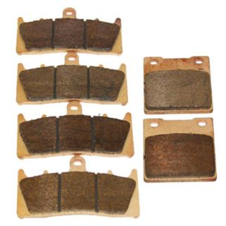 Front + Rear] Performance Sintered Brake Pads For Suzuki motorcycle