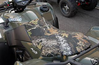 SUZUKI Eiger 400 (2002 2007) Camo or Black 4 Wheeler Seat Cover