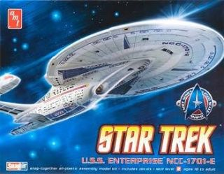 AMT 663, Star Trek USS Enterprise 1701 E 12500 Scale Plastic Model