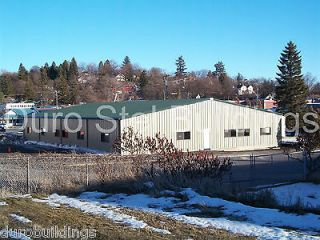 Duro Steel 80x180x20 Metal Building Clear Span Church Rec Hall