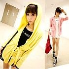 New Fashion Korean Women Girl Cotton Hooded Coat Casual Clothes
