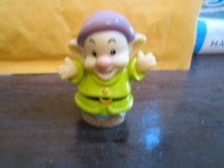 Fisher Price Little People Disney NEW Snow White Seven 7 Dwarves Dwarf