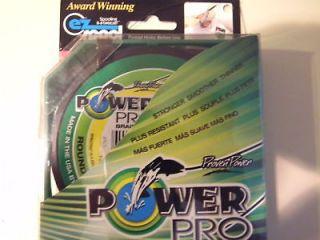 Power Pro 8lb 8 lb 150yd Braided Line Braid Spectra USA NEW Moss Green