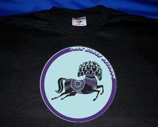DARK HORSE RECORDS T SHIRT The Beatles GEORGE HARRISON rock logo