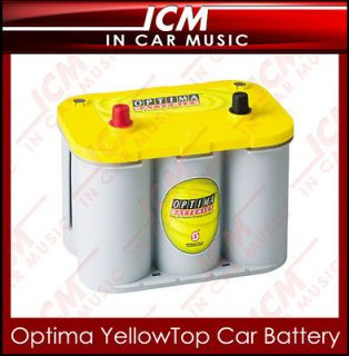 Optima YellowTop Deep Cycle Dual Purpose Power Car Battery For Car