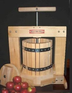 Newly listed LARGE FRUIT JUICE/WINE/APP​LE CIDER PRESS NEW