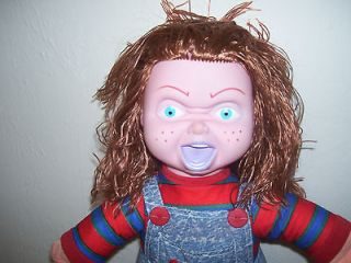 1991 child s play chucky doll 17 new with tag