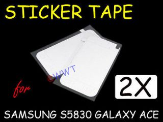 2x Touch Screen Glass Adhesive Repair Tape for Samsung S5830 Galaxy