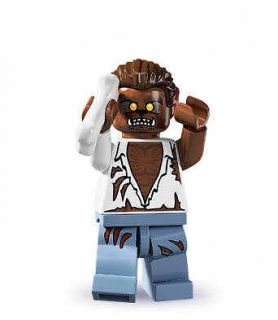 newly listed lego 8804 mini figure series 4 werewolf time