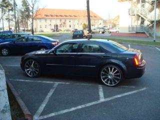 275/25 24 Inch Chrysler 300 C 300C Chrome Rim Tire Pkg (Specification