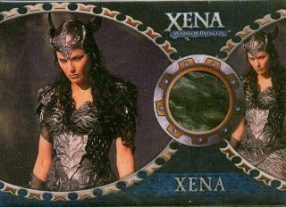 XENA WARRIOR PRINCESS Lucy Lawless Worn Material Relic Swatch Costume