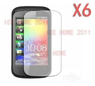 6X Clear Ultra Thin Screen Protector For HTC Explorer A310e