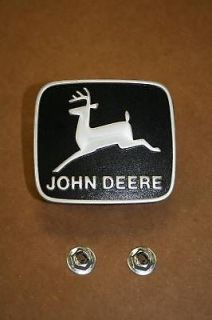 John Deere 316 318 322 330 332 420 Medallion Emblem M76645 with Push