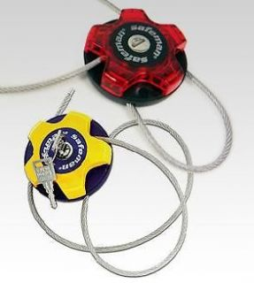 Bike Anti Theft High Intensity Stainless Steel Wire Lock,Safeman Mini