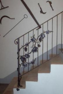 WROUGHT IRON RAILING, custom creations . Italian Style and Design