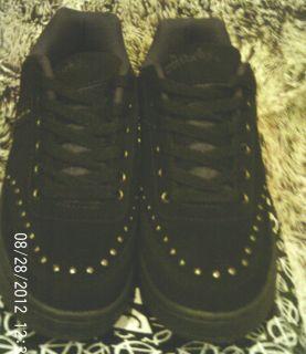 NEW IN BOX   TUK   t.u.k.   Hot Topic Anarchic Black Rivet Skater Shoe