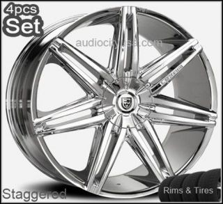 26inch Lexani Johnson Wheels and Tires PKG for Land Range Rover Rims