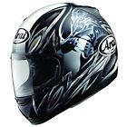 arai profile wraithen motorcycle helmet rare graphic new time left
