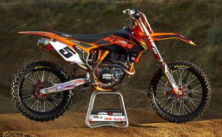 KTM RYAN DUNGEY GRAPHICS KIT EXC SX XC 200 250 300 450 SXF (05 06