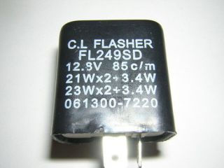 kawasaki flasher relay new zx 9r zr750 klr250 gpz 454