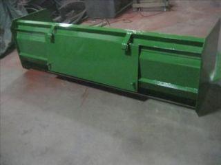 new 10 snow box pusher plow blade john deere tractor
