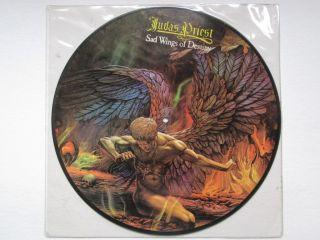 judas priest sad wings of destiny rare oop picture lp