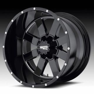 18 inch 18x10 Moto Metal black wheels rims 5x5.5 5x139.7 dodge ram