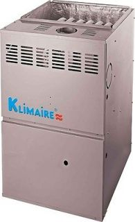 Klimaire Gas Furnace 80% AFUE 50 kBtu Multi position   Single stage