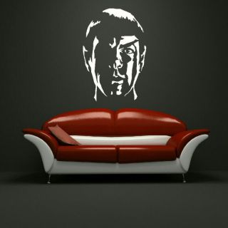 STAR TREK DR SPOC LARGE BEDROOM WALL MURAL ART STICKER GRAPHIC DECAL