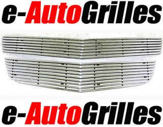 09 11 Chevy Traverse Chrome 8mm Overlay Billet Grille